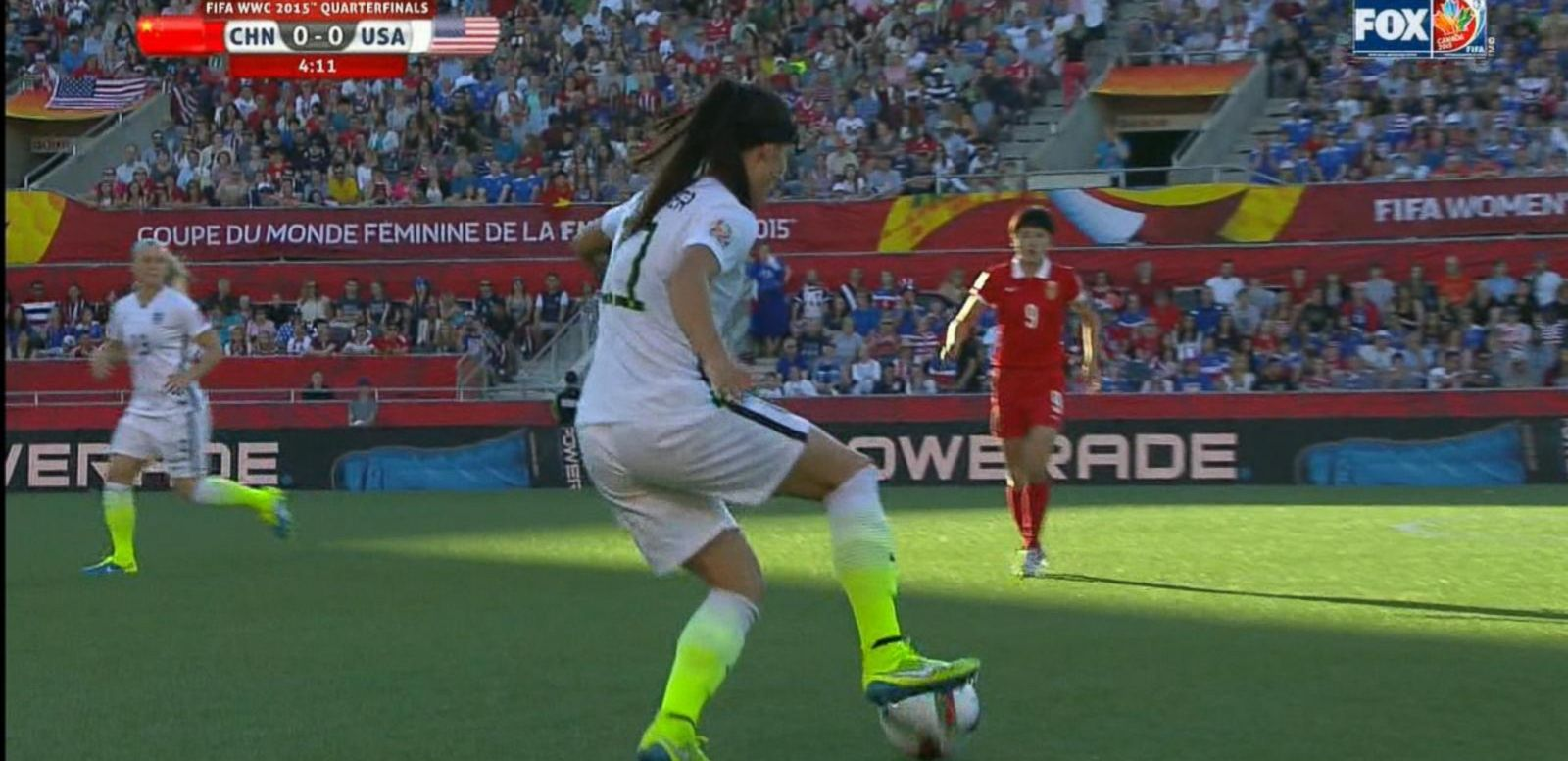VIDEO: Team USA Facing Off Against Germany