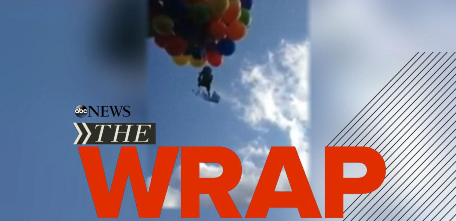 VIDEO: Fighter Jet and Small Plane Collide; FBI Searches Subway Spokesman Jared Fogle's Home; Man Ties Himself to Helium Balloons