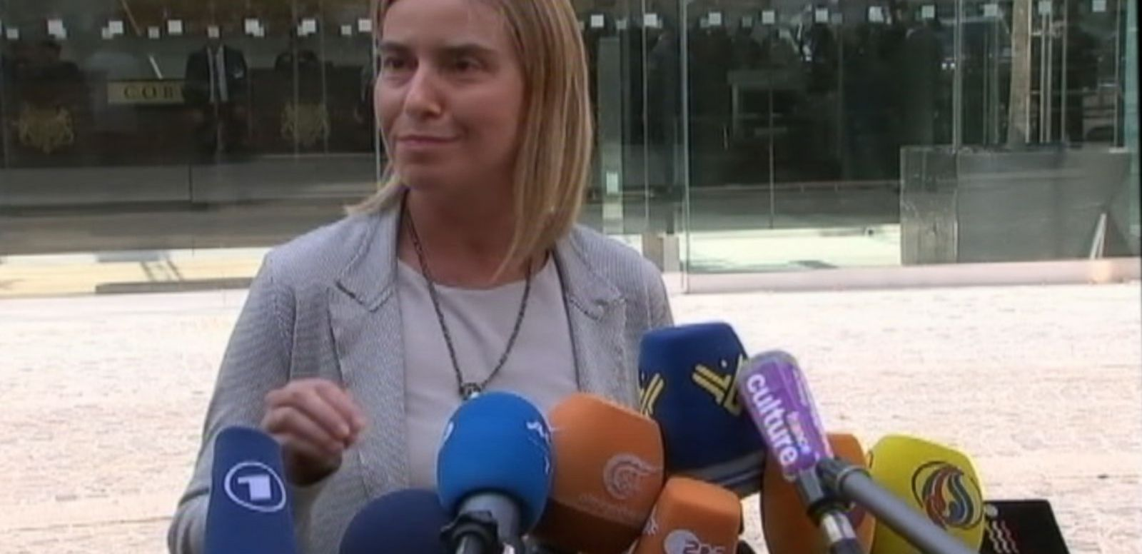 VIDEO: EU Foreign Policy Chief Announces Flexibility With Iran Nuclear Deadline