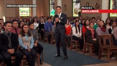 VIDEO: Chicago High School Takes Part in Virtual Audience With Pope
