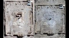 VIDEO: Satellite images provided by the United Nations show the apparent destruction of the 2,000 year-old Temple of Bel by ISIS militants who have taken over the city.