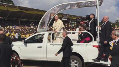 Pope Francis Visits Uganda