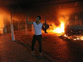 Photos: Attacks on U.S. Consulate in Libya, Embassy in Cairo