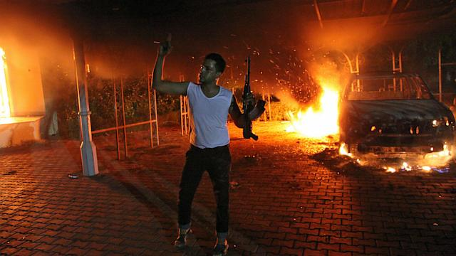 Protesters in Libya Set Fire to U.S. Consulate