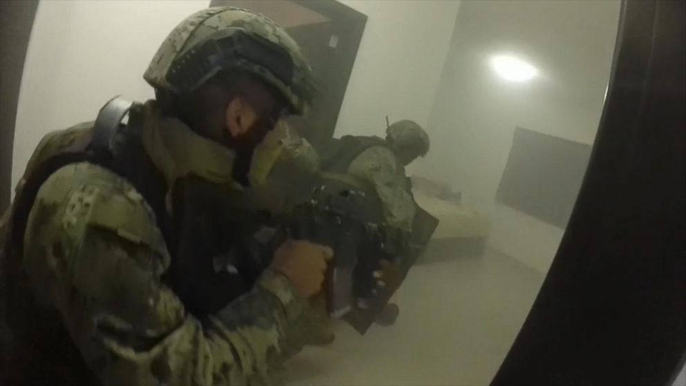 gopro footage of raid that captured  u0026 39 el chapo u0026 39  video