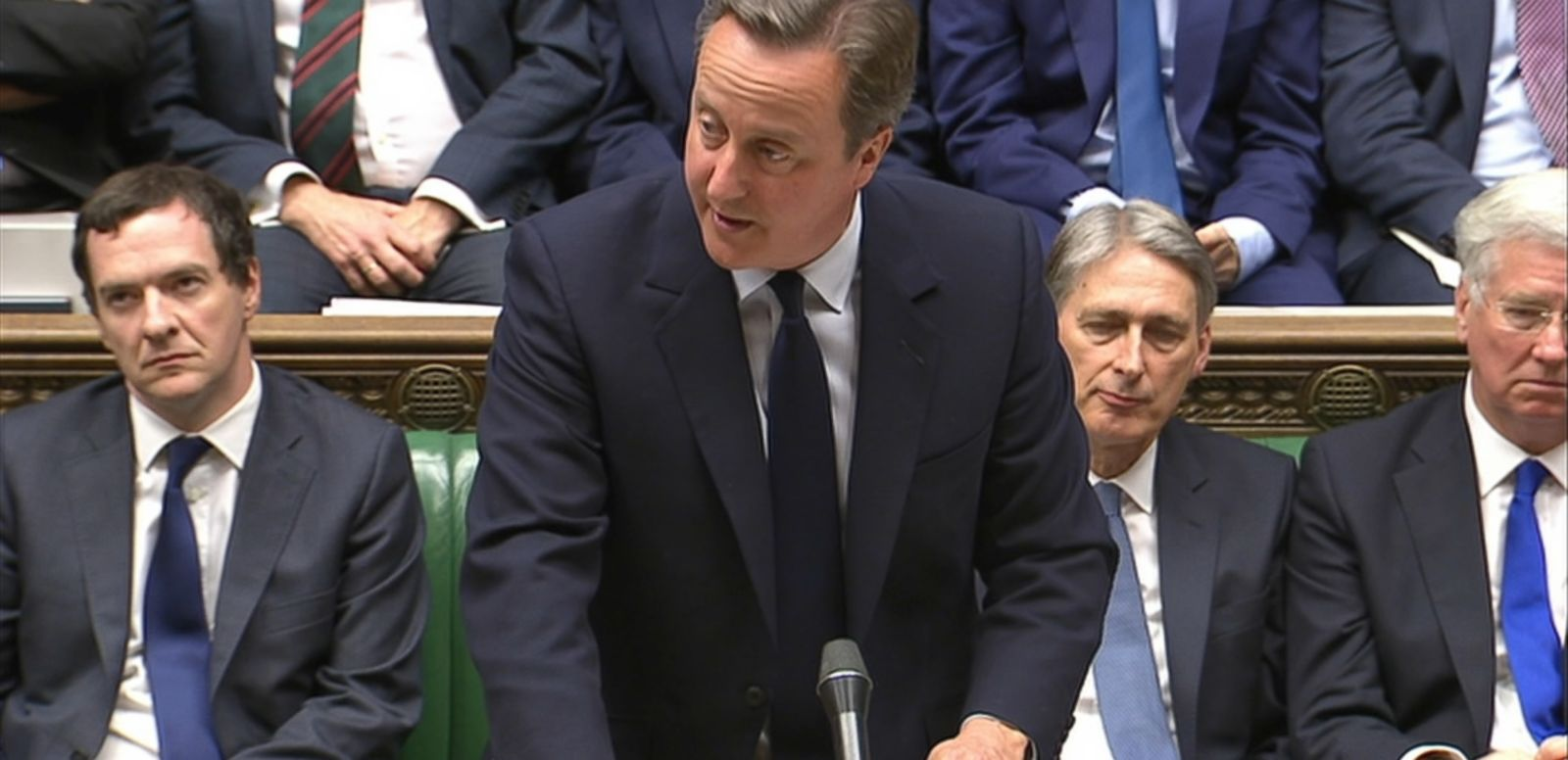 "VIDEO: British Prime Minister David Cameron addressed Parliament today, saying that while he accepts the decision of voters to leave the European Union, Britain ""must not turn its backs on Europe or the world."""