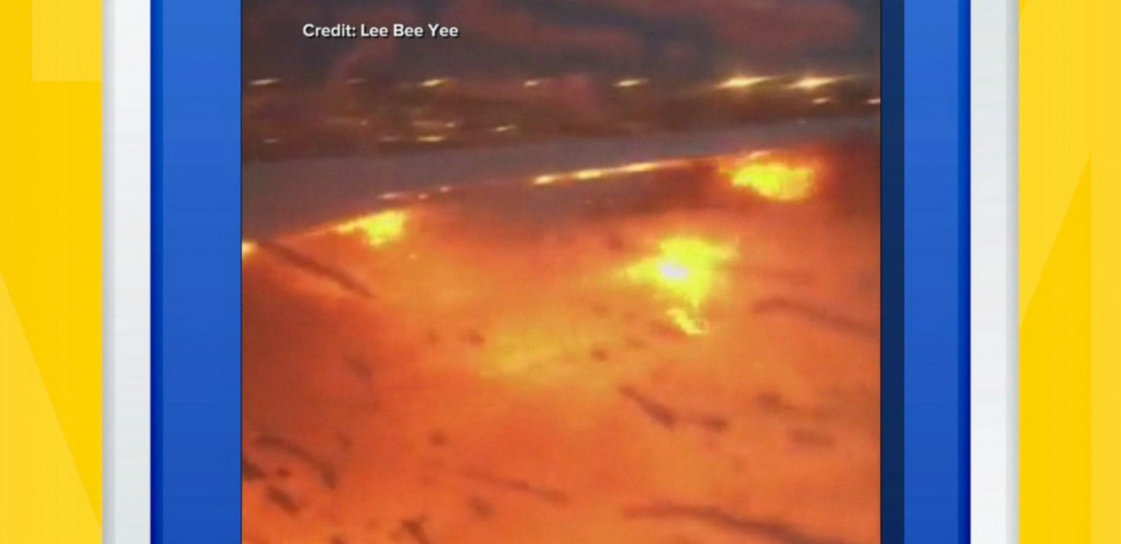 VIDEO: A Singapore Airlines plane bound for Milan caught fire while making an emergency landing at Singapore's Changi Airport early Monday morning.