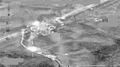VIDEO: US Airstrikes Target ISIS Militants Near Fallujah