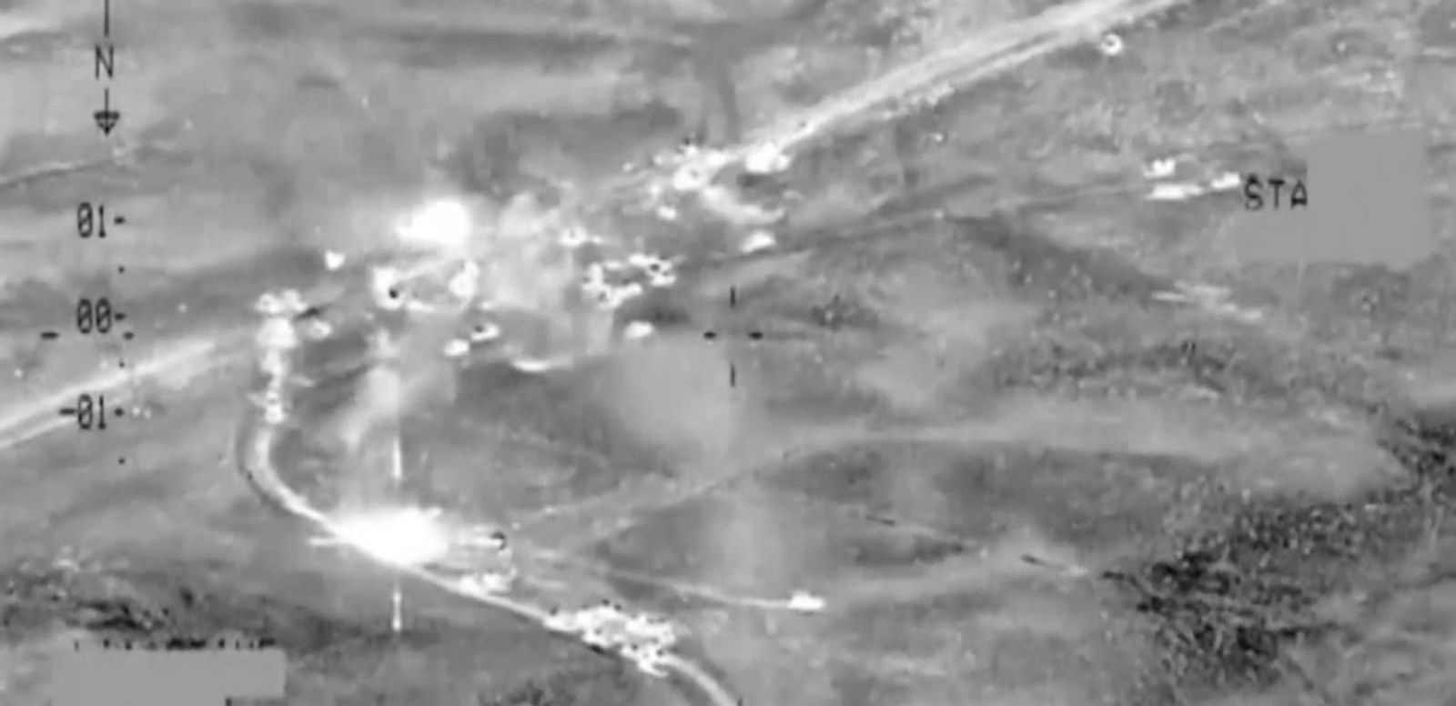 VIDEO: US Airstrikes Target ISIS Militants Near Fallujah