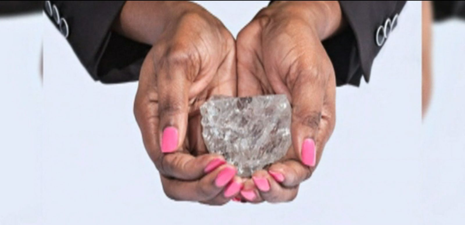 "VIDEO: The colossal gem, ""Lesedi la Rona,"" is expected to fetch at least $70 million."