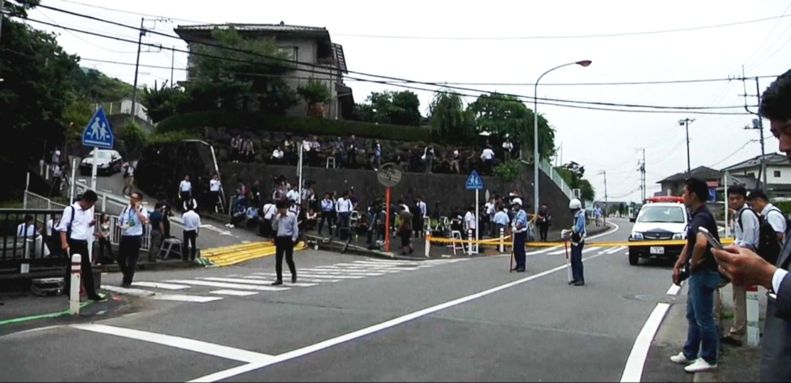 VIDEO: Some 19 people were killed and about 20 others were injured in a stabbing attack at a disabled living facility near Tokyo, according to the Sagamihara City Fire Department.