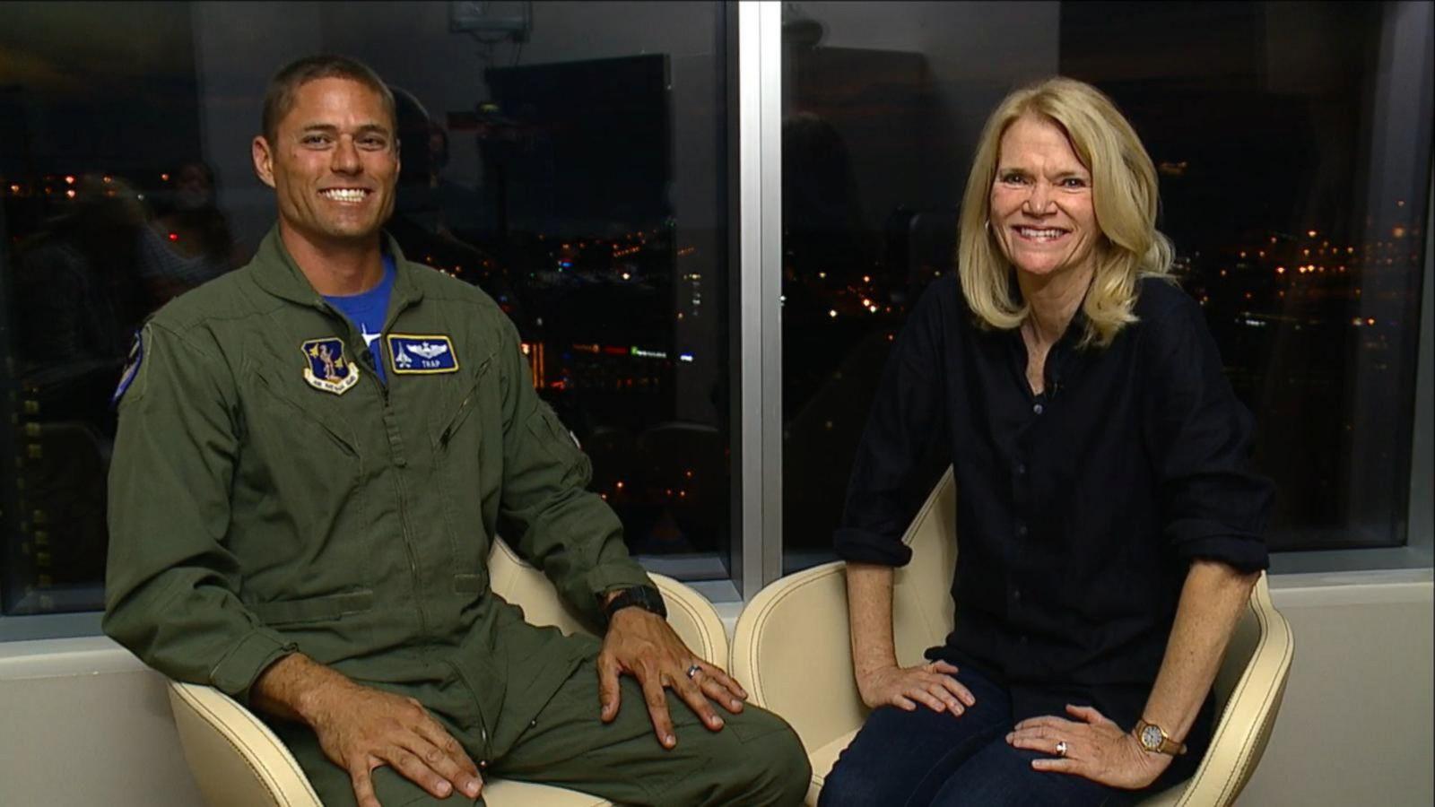 VIDEO: Martha Raddatz Talks to F-15 Pilot Amid NATO War Games in Estonia