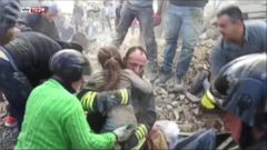 10-Year-Old Girl Rescued From Rubble of Italian Earthquake