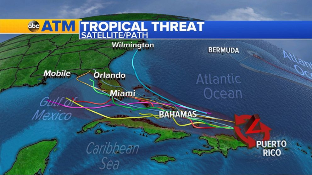 Tropical Wave Headed Toward Florida Bahamas This Weekend