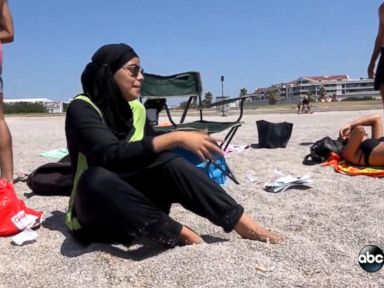 WATCH:  Burkini Bans Cause Controversy Across France
