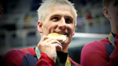 Olympic swimmer has said he overexaggerated robbery story.