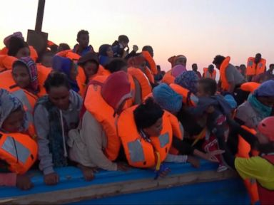 WATCH:  Thousands of Refugees Rescued Off the Coast of Libya