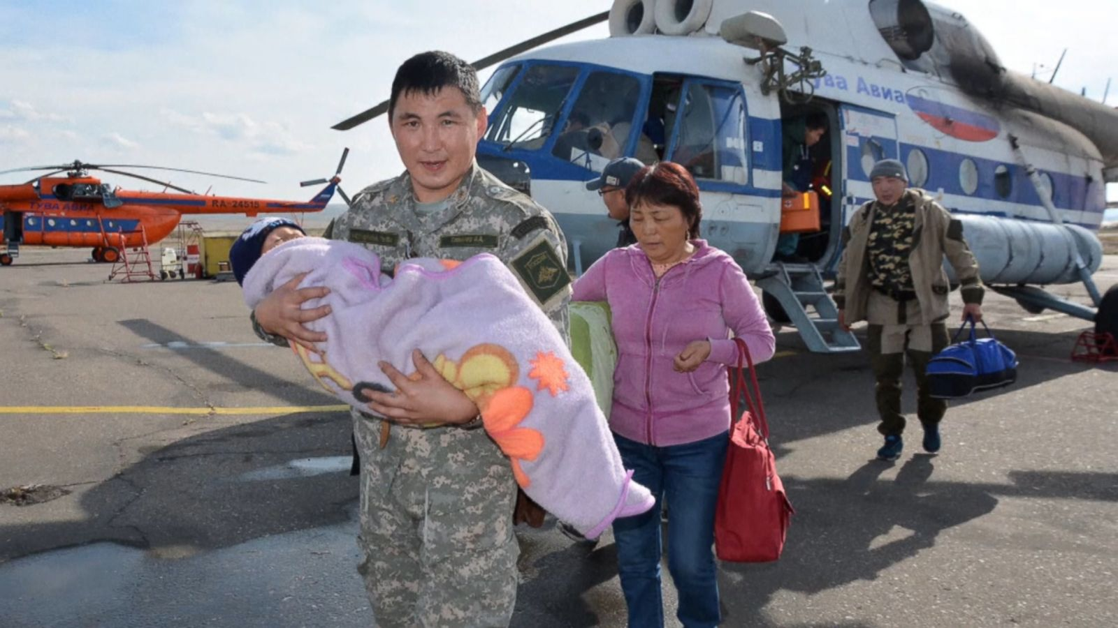 VIDEO: A 3-year-old boy has been rescued after surviving three days alone in the wilderness in a remote part of Siberia, authorities said.