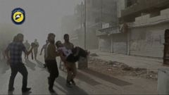 VIDEO: East Aleppo saw what witnesses describe as an unprecedented and relentless offensive as United Nations diplomats demanded a halt to the violence Sunday.