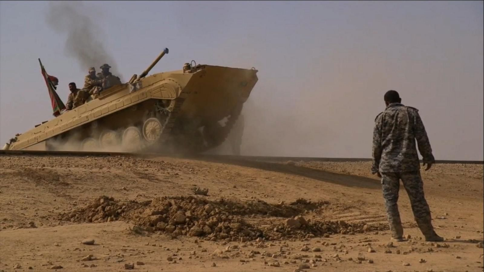 VIDEO: The Road to Mosul: Embedded with the Iraqi Army