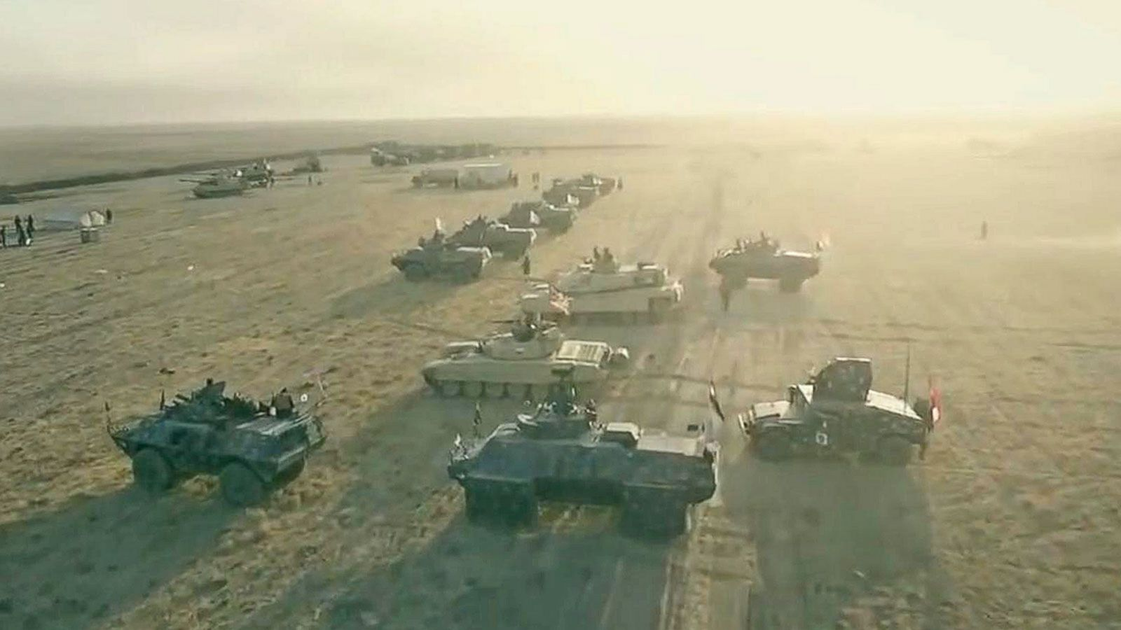 VIDEO: Drone Footage Captures Images of Iraqi Army Offensive to Liberate Mosul