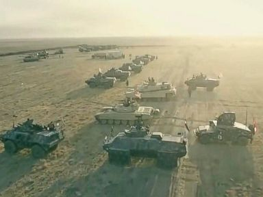 WATCH:  Drone Footage Captures Images of Iraqi Army Offensive to Liberate Mosul