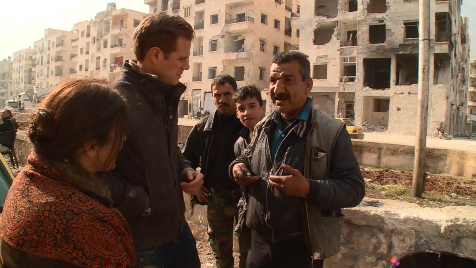 VIDEO; Inside Aleppo As Families Return Back to Their Neighborhood