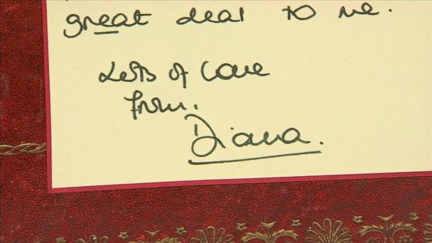 A series of handwritten notes by the late Princess Diana to a Buckingham Palace steward are to be sold at auction.