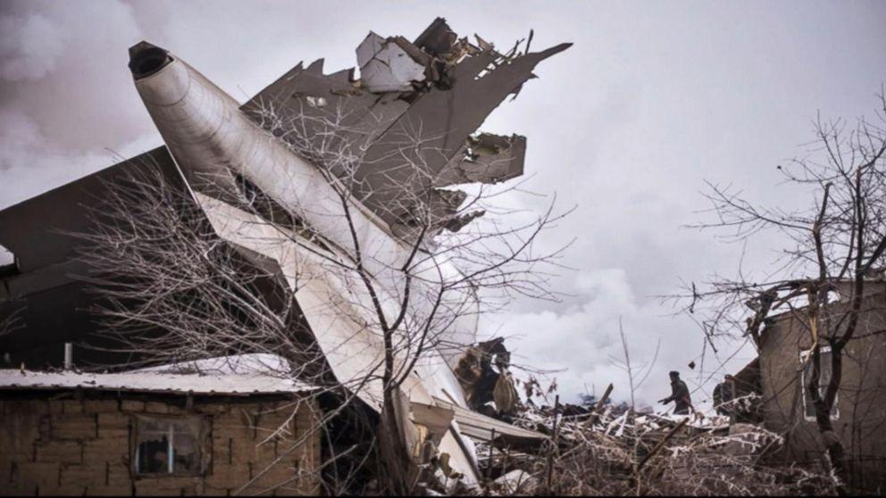 WATCH Cargo Plane Crashes in Kyrgyzstan Killing 33