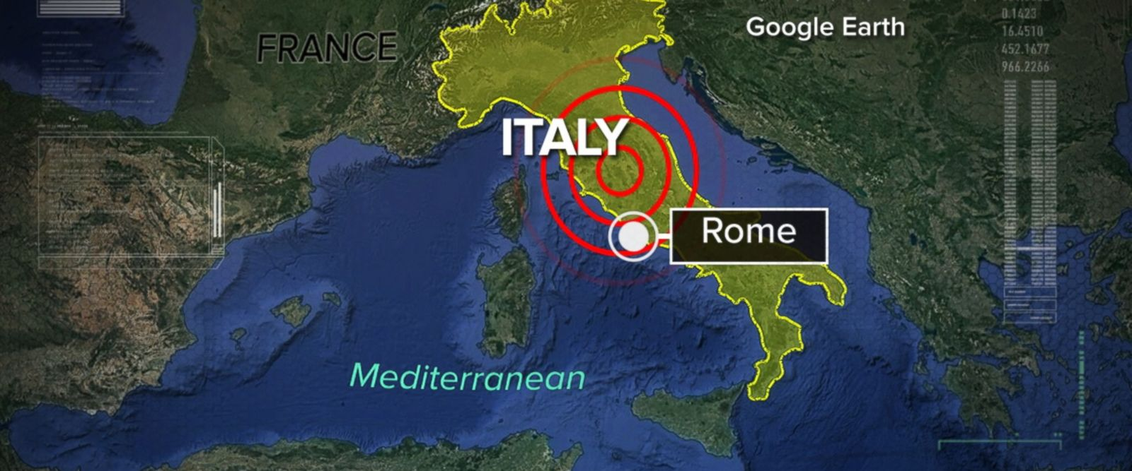 VIDEO: A 5.3-magnitude earthquake struck central Italy on Wednesday morning, a representative from the Civil Protection Department confirmed on Italy's RAI TV.