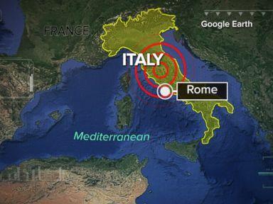 WATCH:  Earthquake Strikes Italy, Tremors Felt in Rome