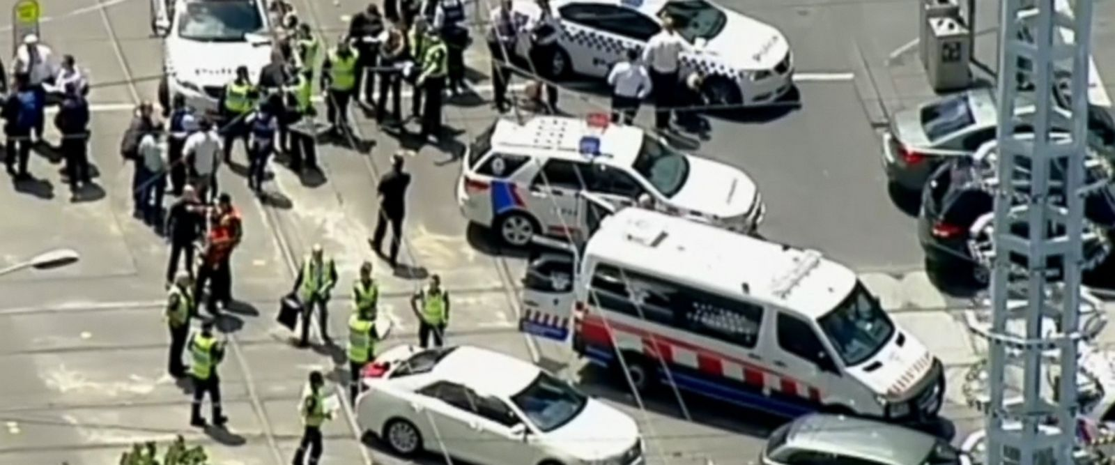 VIDEO: Police have apprehended a man they say deliberately drove into a crowd of pedestrians in one of Australia's largest cities, killing three people and injuring at least 20.