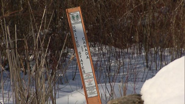 VIDEO: Canadian border is seeing a spike in number of people crossing over from the US