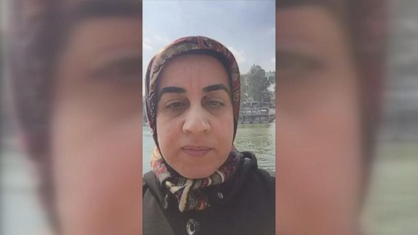 Today, Alaa Ali Alali found out that she is due to travel to the U.S. tomorrow.