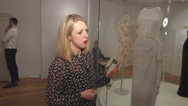 VIDEO: Princess Diana's dresses go on display
