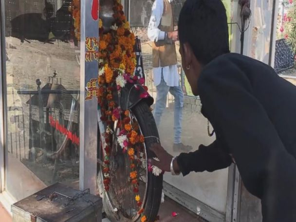 VIDEO: Om Banna's Motorcycle Temple in India