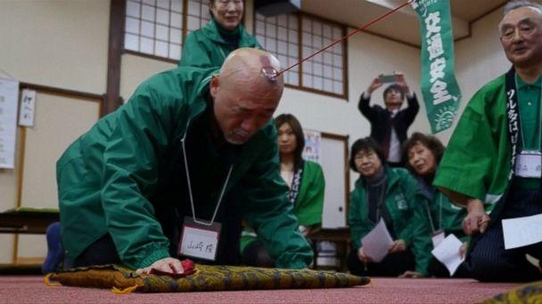 VIDEO: Members of Japan's
