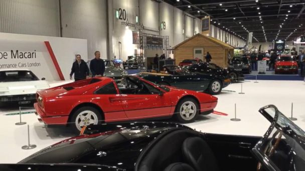 VIDEO: Inside the London Classic Car Show