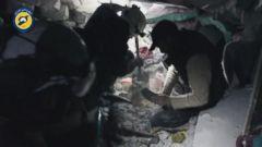 VIDEO: Dramatic video shows White Helmet rescue in village near Aleppo