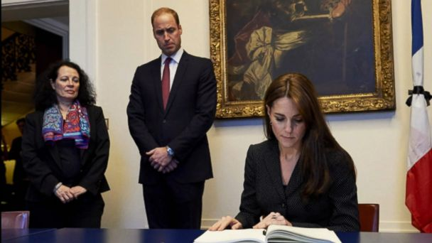 William, 34, and Kate, 35, are on a two-day official visit to the