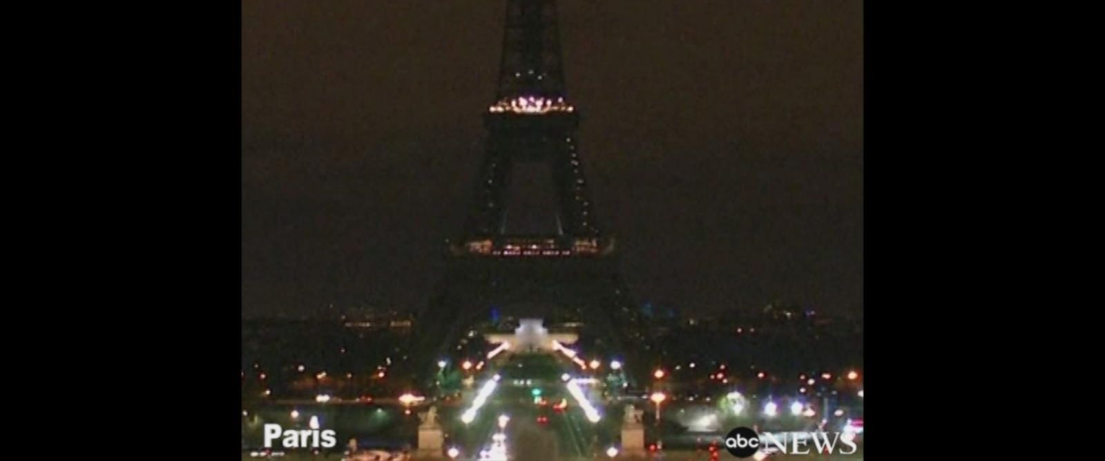 VIDEO: Lights dimmed at Eiffel Tower after London attack