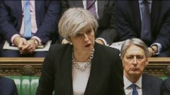 VIDEO: Theresa May spoke in the House of Commons, saying, Our resolve will never waver in the face of terrorism.