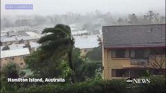 VIDEO: Cyclone Debbie slams into Australias tropical northeast coast