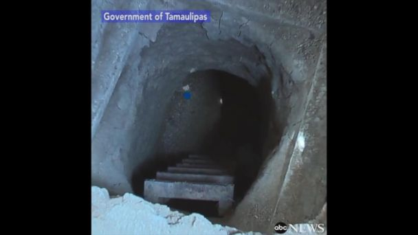 VIDEO:  Mexican officials release video showing the tunnel inmates used to escape prison