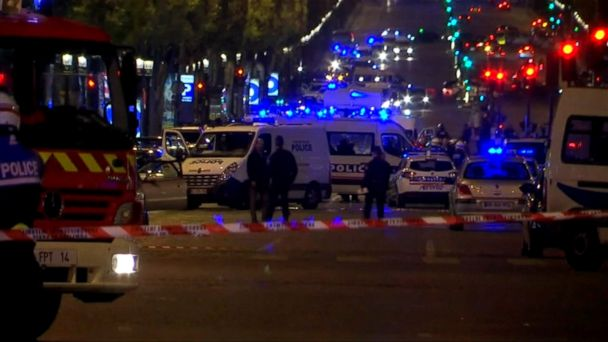 VIDEO: The suspect who shot one police officer dead and injured two others in Paris Thursday night has been identified as Karim Cherufi.