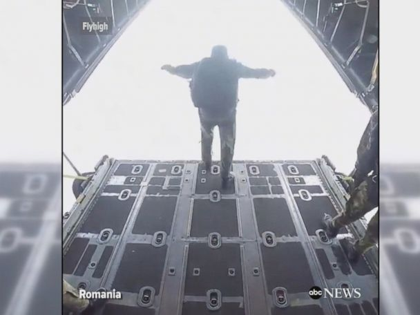 WATCH:  Skydiving through the eyes of a paratrooper