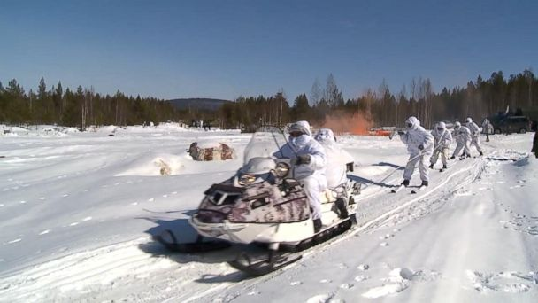 VIDEO: Russia lays claim to the Arctic with military base