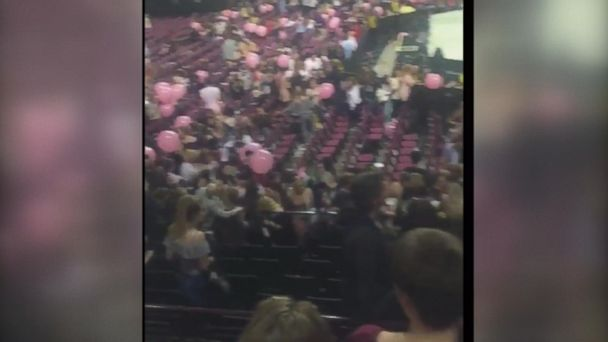 VIDEO: People evacuate Manchester Arena after reports of explosion
