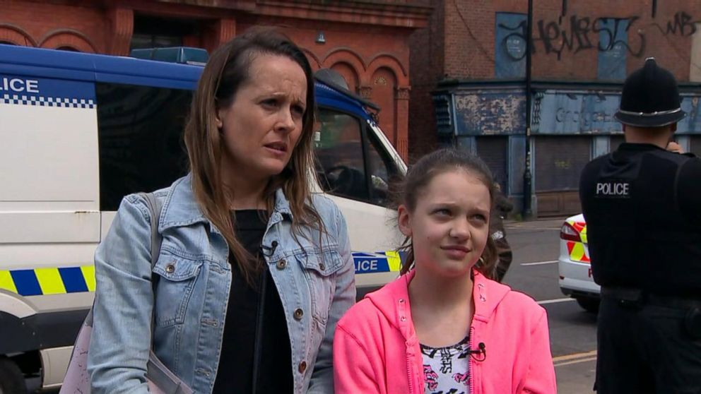 VIDEO: Mother tells harrowing tale of escape from Manchester Arena