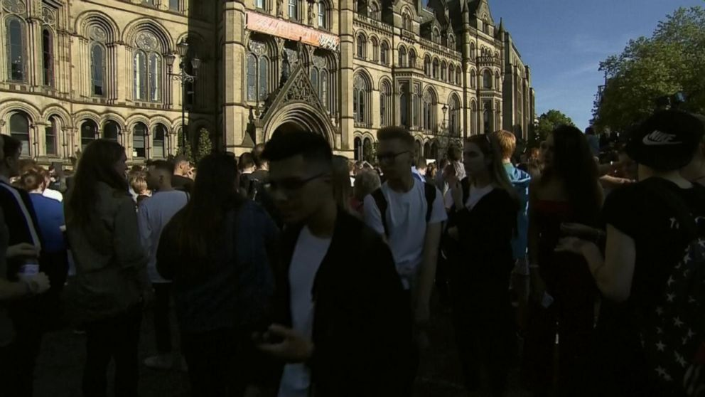 VIDEO: Vigil takes place in Albert Square for Manchester victims